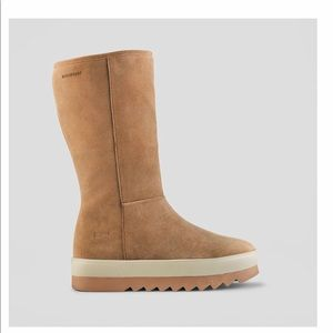 COUGAR VAIL suede WATERPROOF Camel tall boot